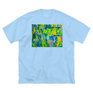 初夏 Big silhouette T-shirts