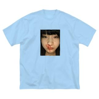 ミキチャン Big silhouette T-shirts