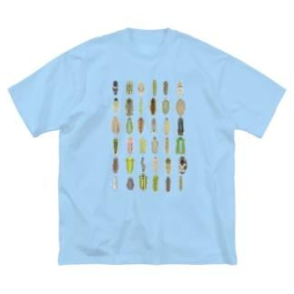 わたしのイモムシ❤︎ Big silhouette T-shirts