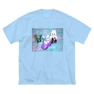 きんたろうの夏休み Big silhouette T-shirts