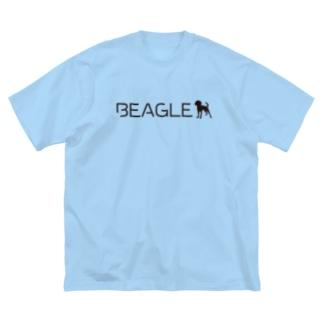 ビーグル★シルエット Big silhouette T-shirts