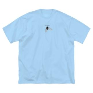 冷夏 Big silhouette T-shirts