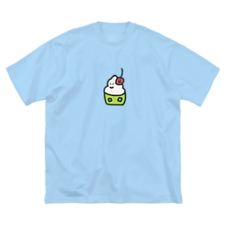 ぼくメロンソーダ Big silhouette T-shirts
