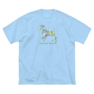 ボタニカル エアデール Big silhouette T-shirts