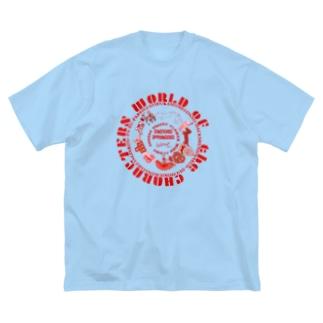 C−HANA しりとりシリーズ Big silhouette T-shirts