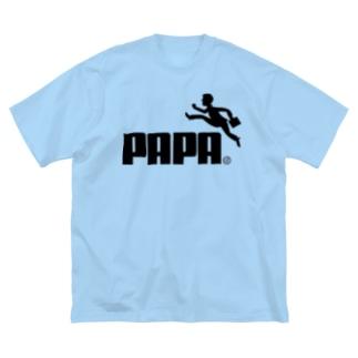 PAPA(パーパ)H.T. Big silhouette T-shirts