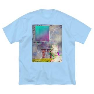 Vaporwave T-shirts  Big silhouette T-shirts