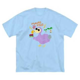 ドードーくん🇲🇺 Big silhouette T-shirts