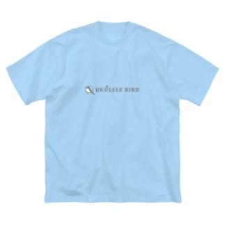 ウクレレバード公式グッズ(ワイドロゴ) Big T-shirts
