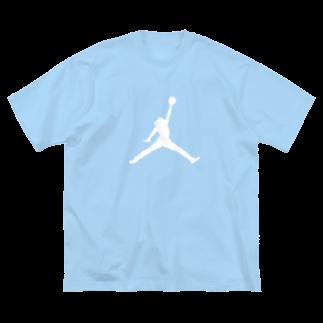 0imageのジョーダン…? Big silhouette T-shirts