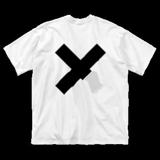 LOLのFigure - 05(BK) Big silhouette T-shirts
