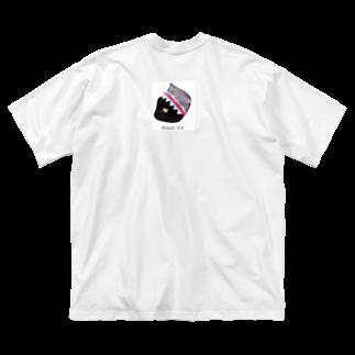 HakubeiのシッポのSHARK🐱 Big silhouette T-shirts