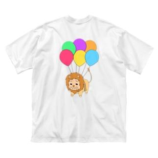 ぷかぷか風船すずきさん Big silhouette T-shirts