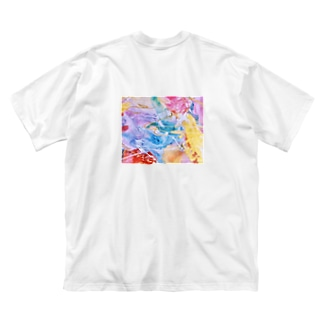 palette.2(横ver.) Big silhouette T-shirts