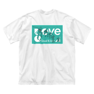 GOVE(ガブ)のSkateboarding 04 Big silhouette T-shirts