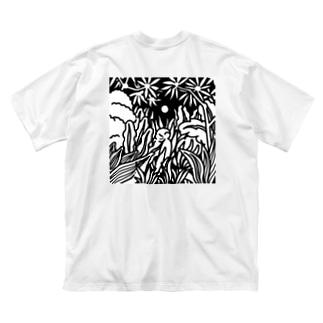 回帰 Big silhouette T-shirts