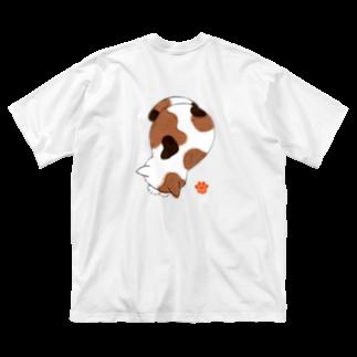 P-TOSHIのごめん寝 Big silhouette T-shirts