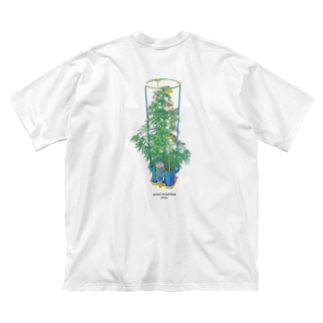 Week end weeds. Big silhouette T-shirts