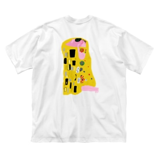 クリムトモチーフ Big silhouette T-shirts