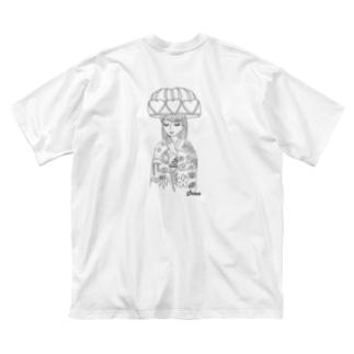 琉装マリアビッグT Big silhouette T-shirts