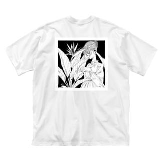 Strelitzia Big silhouette T-shirts