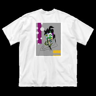 saaashi_40のsaaashi Big silhouette T-shirts