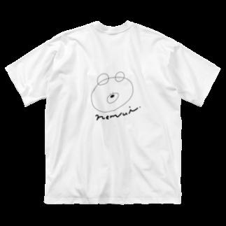 madoromiのほんとうはねむいくまの服 Big silhouette T-shirts