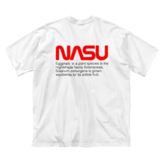 NASU Big silhouette T-shirts