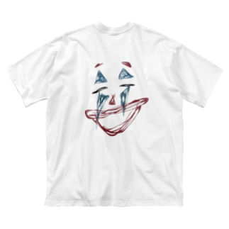 journeyのwhy so serious? Big silhouette T-shirts