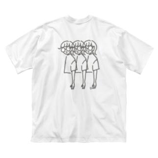 セイレツ ! Big silhouette T-shirts