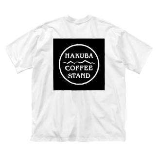 HAKUBA COFFEE STAND オリジナルロゴTシャツ Big silhouette T-shirts