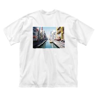 river Big silhouette T-shirts