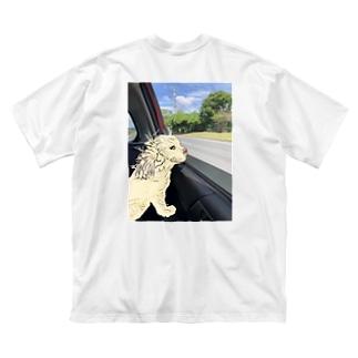 DOG TIME ビックTシャツ Big silhouette T-shirts