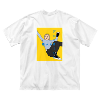 Kohei.OのFOREIGN BASE 🇬🇧 Big silhouette T-shirts