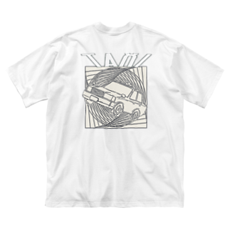 MILKMANIA STOREのTAXI Big silhouette T-shirts