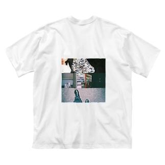 ロゴ入り小雨の夜ビックシルエットTシャツ Big silhouette T-shirts