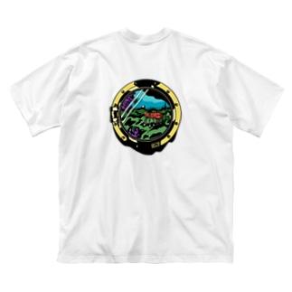 Shrimp : Logo Black Big silhouette T-shirts