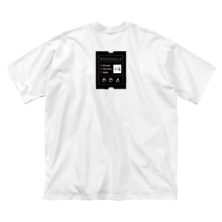 BACK_TAG Tシャツ Big silhouette T-shirts