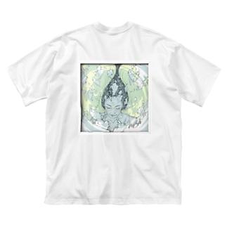 石鹸女子 Big silhouette T-shirts