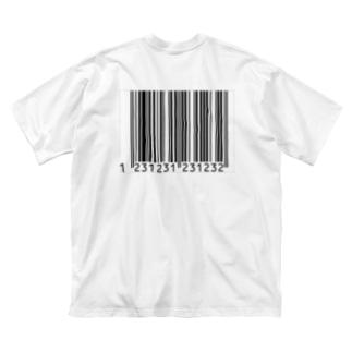 バーコードケース Big silhouette T-shirts