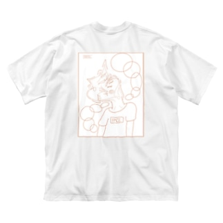FACE Big silhouette T-shirts