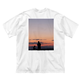 男の時間 Big silhouette T-shirts