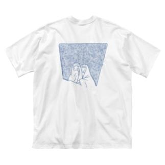 シーツたち Big silhouette T-shirts