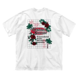 スムージー-冰沙-方眼紙【漢字】【中国語】 Big T-shirts