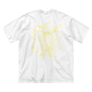 凶暴な子 Big silhouette T-shirts
