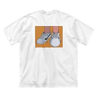 ずるくて、かわいい Big silhouette T-shirts