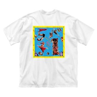 バー弓子vol.11ファンアイテム♡ Big silhouette T-shirts
