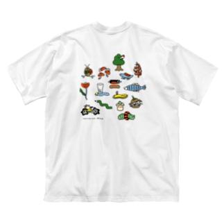 wa~rp _101 Tshirt Big silhouette T-shirts