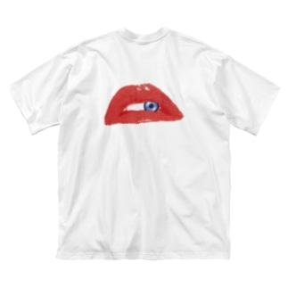 Full Eye Big silhouette T-shirts