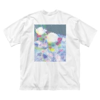 kannaのCreamSoda BACKPRINT TEE Big silhouette T-shirts
